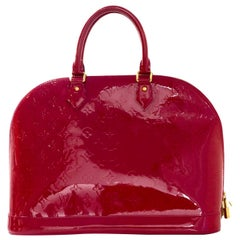 Louis Vuitton Indian Rose Monogram Vernis Alma GM Tote