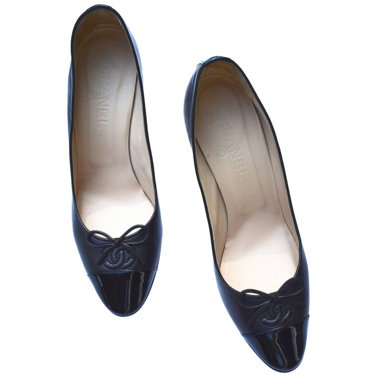 Chanel Classic Black Heels