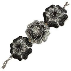 KMO Paris Triple Flower Bracelet