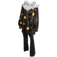 1920s Polka Dot Clown Costume