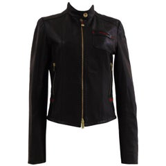 Gucci by Tom Ford black leather jacket