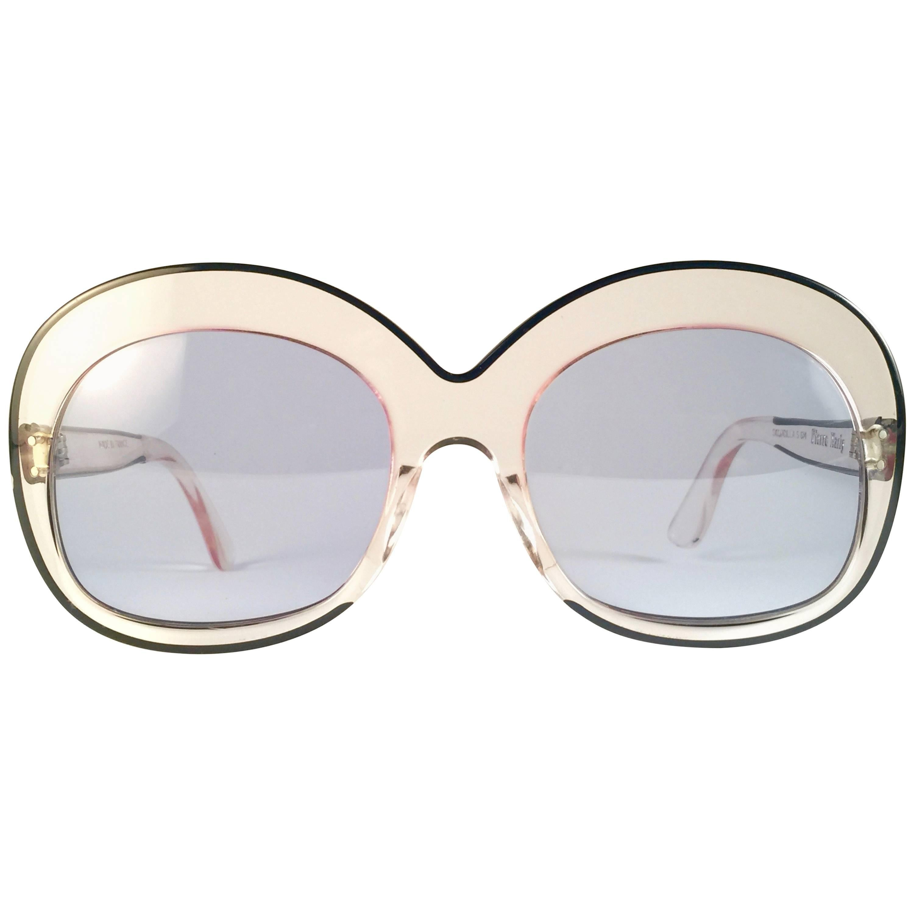 Clear Sourcilla Oversized Marly Vintage Rare 1960's New Pierre Sunglasses 8wPn0Ok