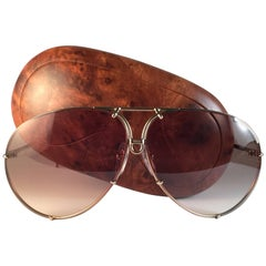 New Vintage Porsche Design By Carrera 5621 49 Titan Large Sunglasses Austria