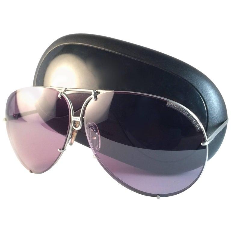 93c0ed3dfcaa2 New Vintage Porsche Design By Carrera 5621 Titan Matte Large Sunglasses  Austria For Sale