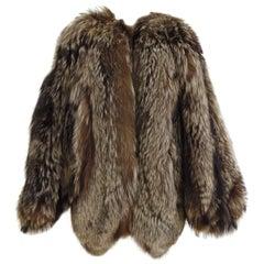 Fendi silver fox fur, 1990