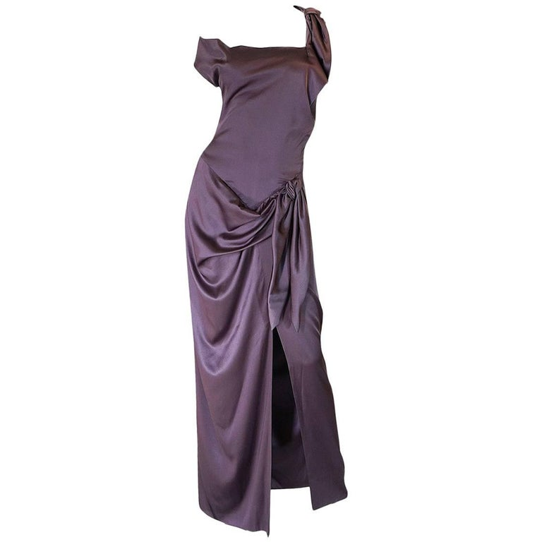 Vivienne Westwood Light Purple Draped Red Label Dress, 1990s