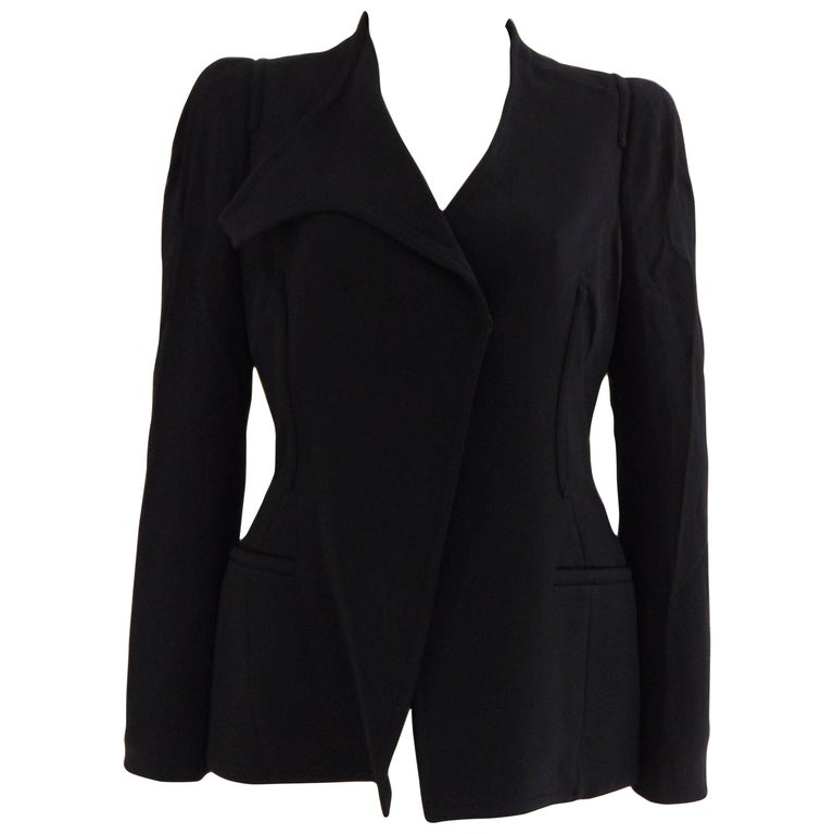 Tom Ford black cotton jacket For Sale