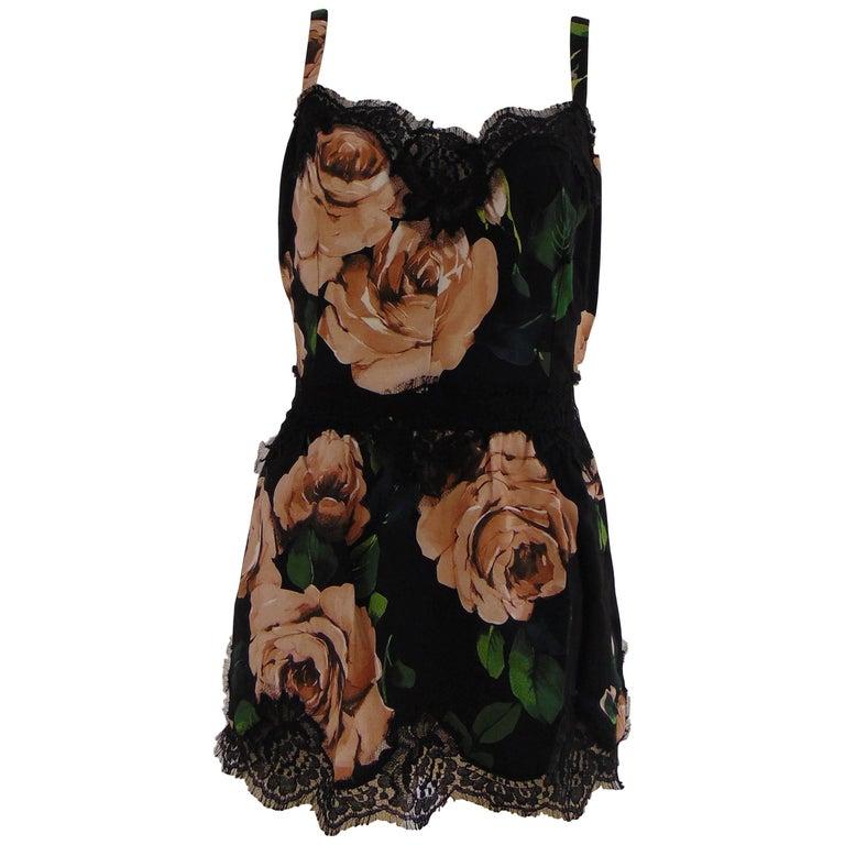 Dolce & Gabbana vintage flower top