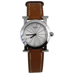 Hermes Heure H Ronde Stainless Steel Female Watch