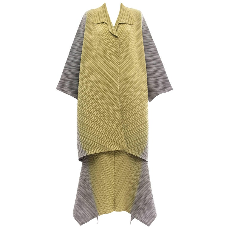 Issey Miyake Plisse Skirt Suit