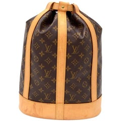 Louis Vuitton Randonnee Monogram Canvas Shoulder Bag
