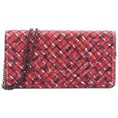 Bottega Veneta Wallet on Chain Intrecciato Nappa