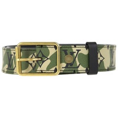 2010s Louis Vuitton Camouflage Belt