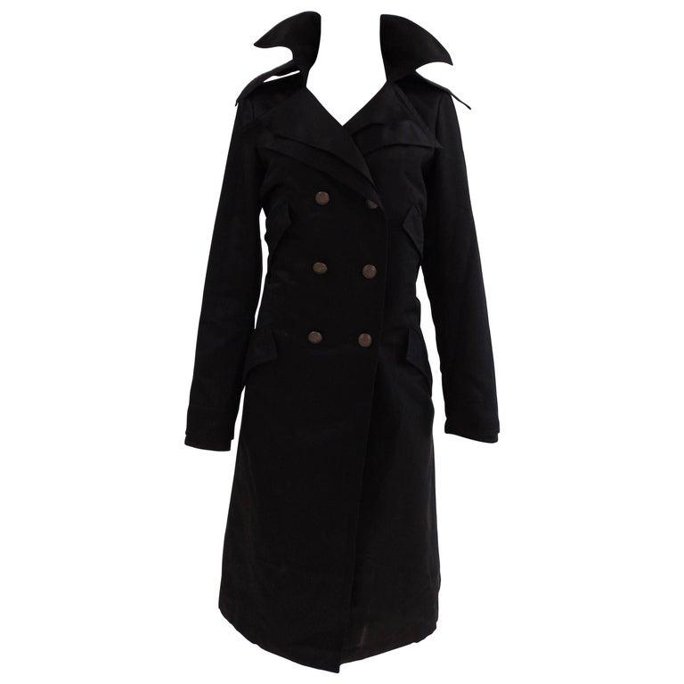 Chanel black coat