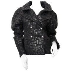 Chanel Checked Black Vest