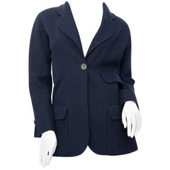 Chanel Blue Blazer