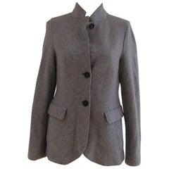 Harris Wharf grey wool jacket