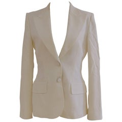 Dolce & Gabbana cotton white jacket