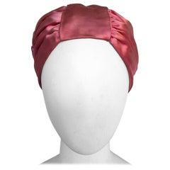 Pink Silk Turban