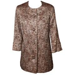 1960s Vintage Lame` Jacket