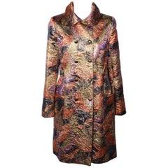 PAUL & JOE Lame` 1960s Style Pea Coat
