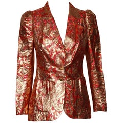 1970s Vintage Lame` Jacket