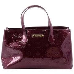 Louis Vuitton Wilshire Handbag Monogram Vernis PM