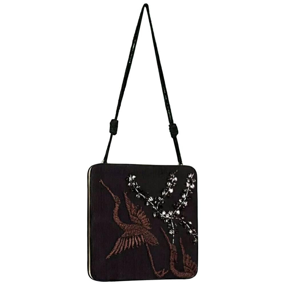 Tom Ford for Gucci S/S 2003 Embroidered Limited Edition Clutch