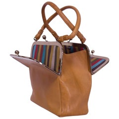 """Bonnie Cashin Pre-Coach """"Cashin Carry"""" Saddle Handbag, 1960s"""