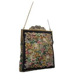 Jolles Original Austrian Petit Point Tapestry Evening Bag, 1930s