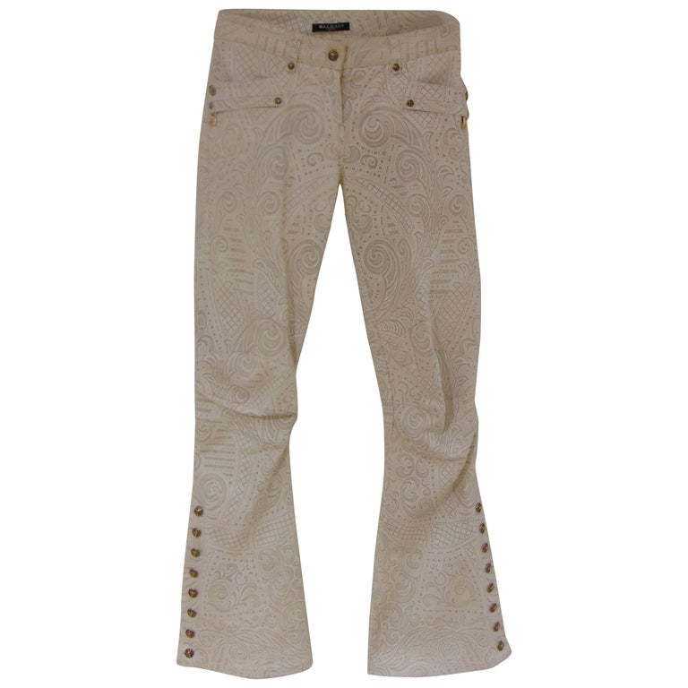 Balmain iconic bull pants