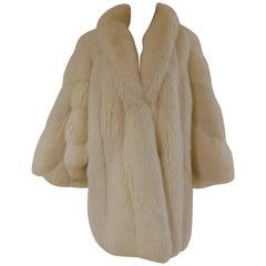 Franco Lo Russo white fox fur