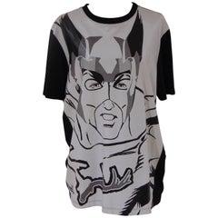 Leitmotiv black and white cotton shirt NWOT