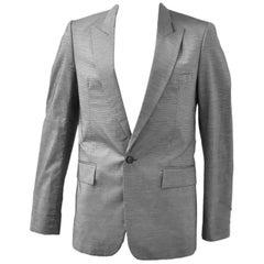 Raf Simons Grey Micro Stripe Jacket Spring Summer 2007