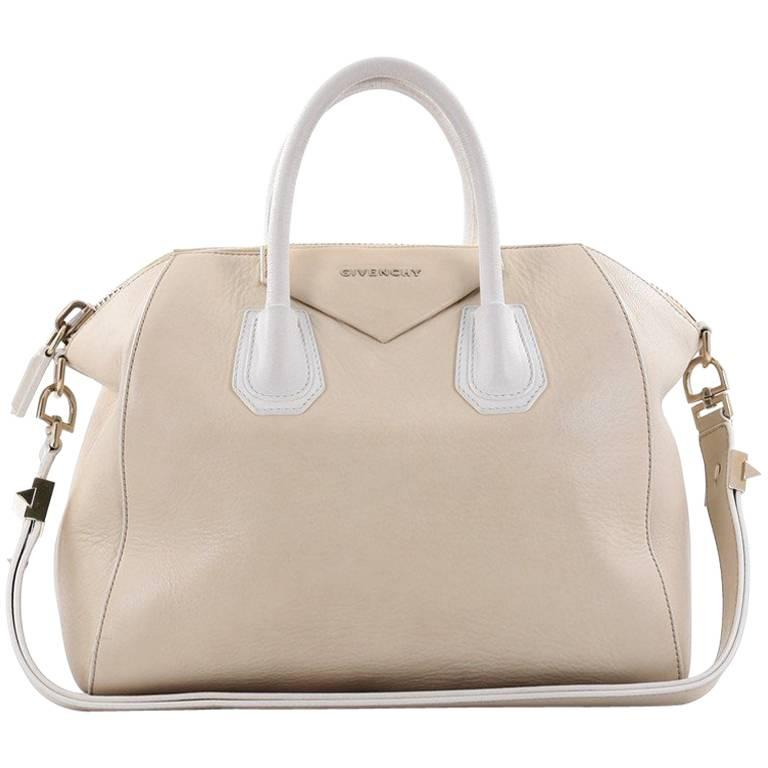 Givenchy 24 Hour Camel Leather And Black Grained Leather Bag WJkqmXWL6A