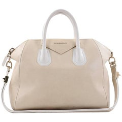 Givenchy Bicolor Antigona Bag Leather Medium
