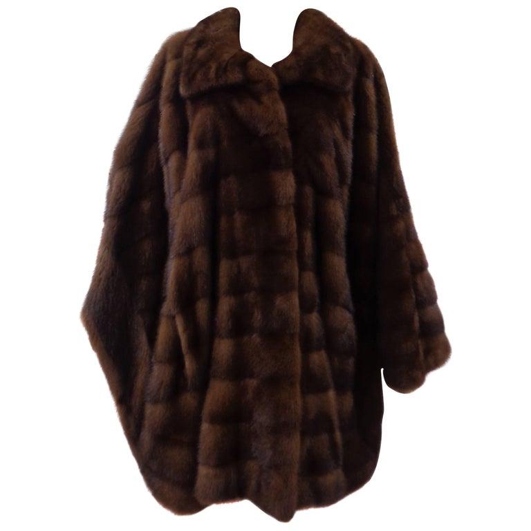 Carlo Tivoli brown marten fur