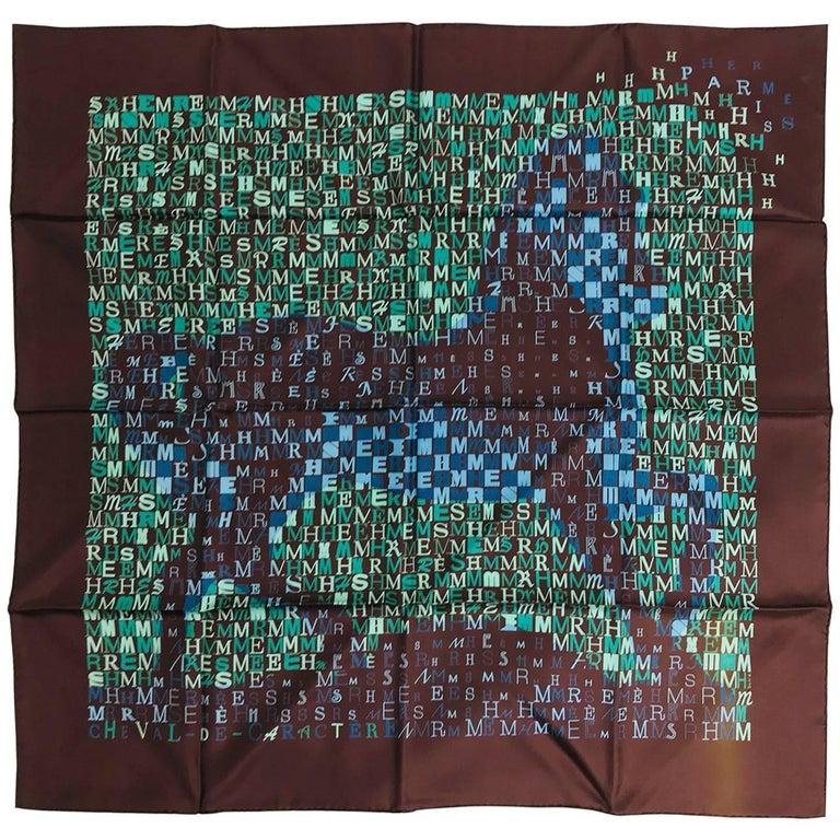 Hermes cheval de caractere scarf Dimitri Rybaltchenko 2011 NIB