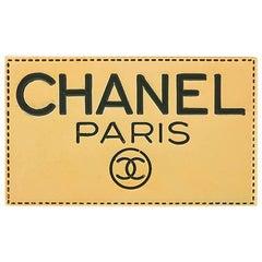 NEWFOUND LUXURY - Chanel Gold Bar Chanel Paris Evening Lapel Pin Brooch W/Box