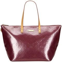 Louis Vuitton Purple Vernis Bellevue GM