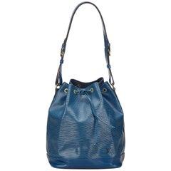 Louis Vuitton Blue Epi Noe
