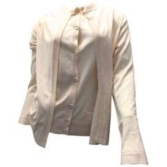 Hermes Sweater - Creamy White - Silk / Cotton