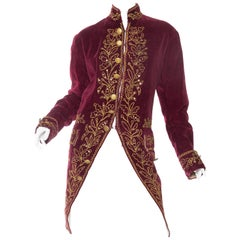 Antique French 18th Century Style Frock Coat