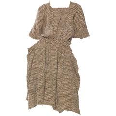 Early Issey Miyake Crinkle Weave Dress