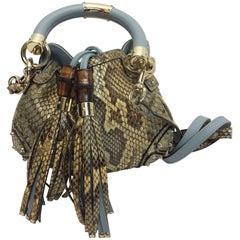 Gucci Python Mini Indy Crossbody Bag