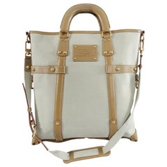Louis Vuitton Trianon Poids Plume GM Canvas and Leather Tote Bag