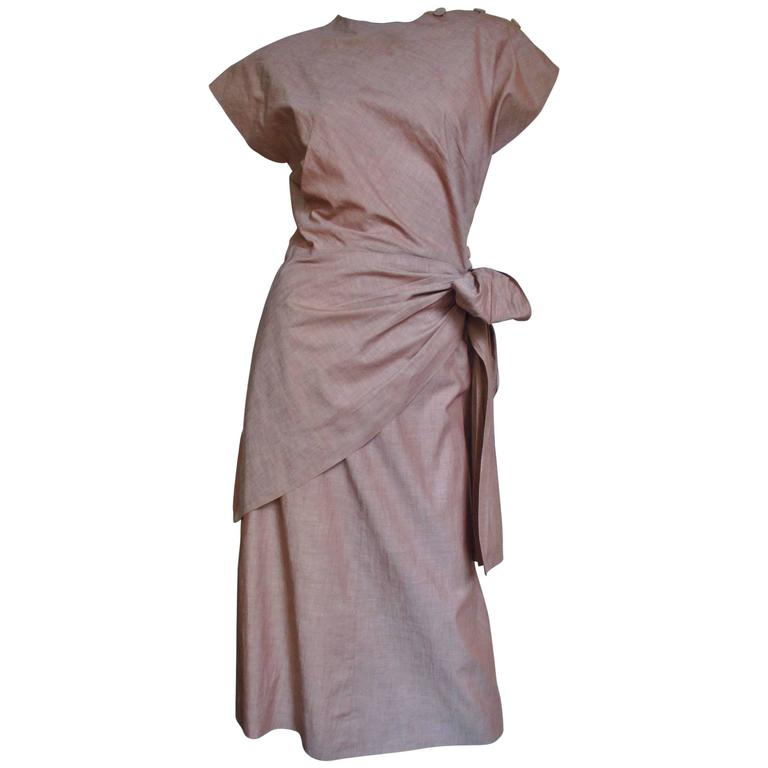 1940's Adele Simpson Wrap Top & Skirt