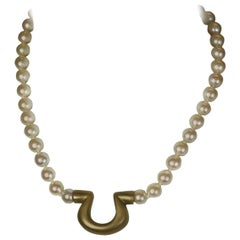 Unusual Cultured Pearl Necklace