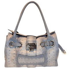 Rosalie' bag by Jimmy Choo Python skin shoulder bag New In Box