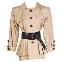 Yves Saint Laurent Haute Couture Safari Shirt with Belt
